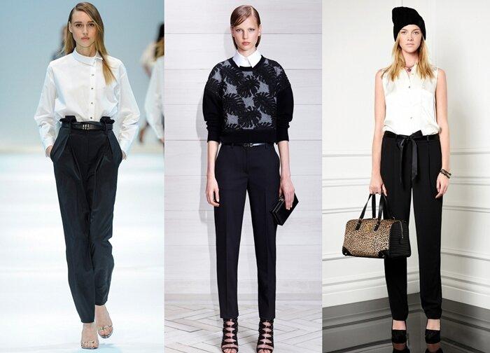 Черные брюки в вашем гардеробе 2