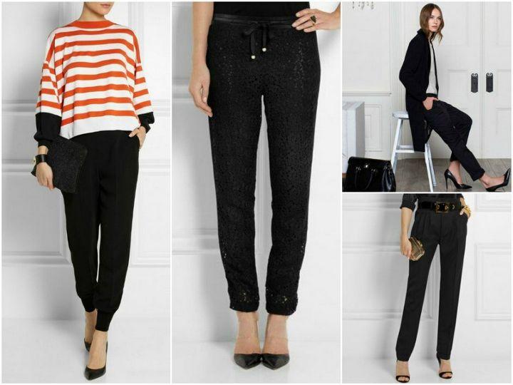 Черные брюки в вашем гардеробе 17