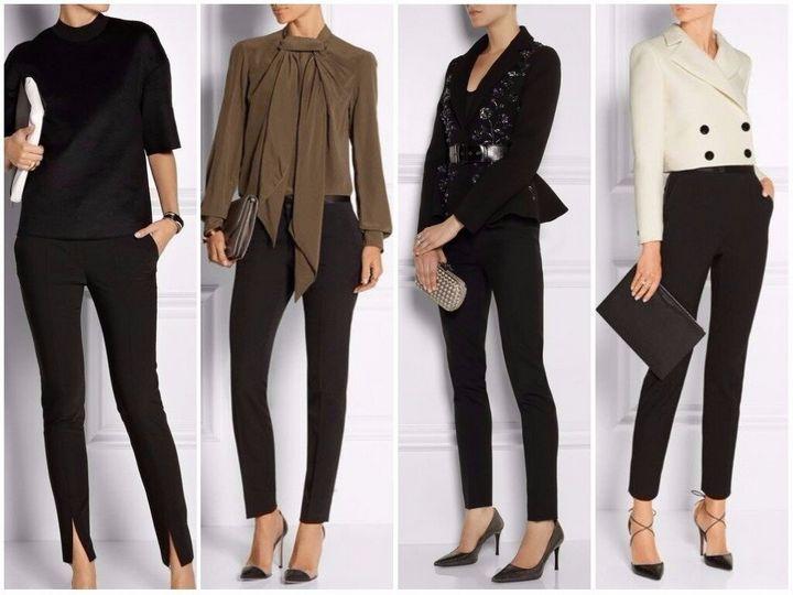 Черные брюки в вашем гардеробе 15