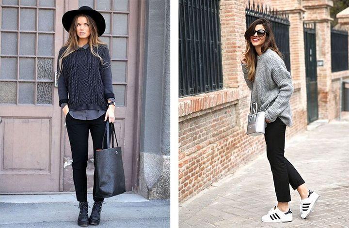 Черные брюки в вашем гардеробе 16