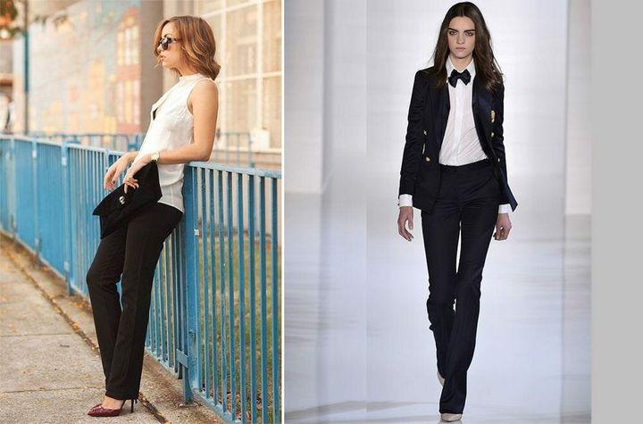 Черные брюки в вашем гардеробе 12