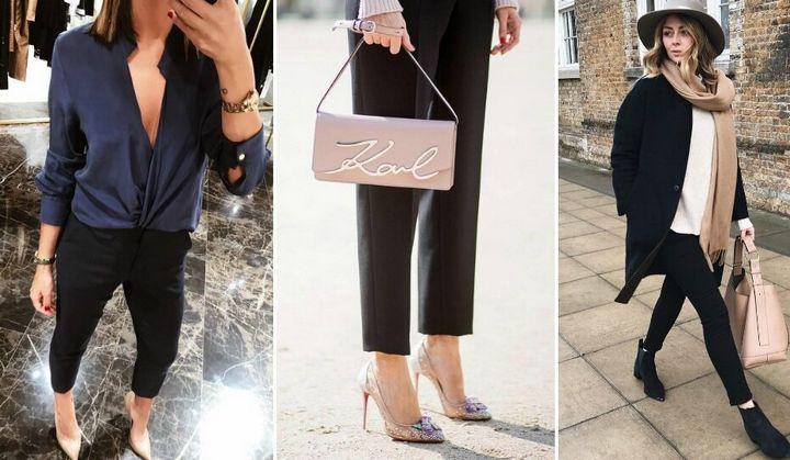 Черные брюки в вашем гардеробе 1