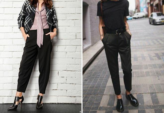 Черные брюки в вашем гардеробе 6