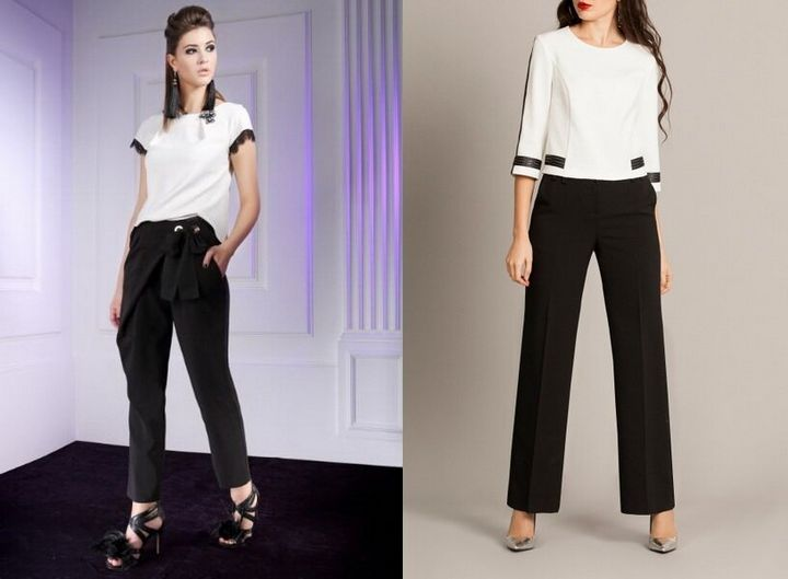 Черные брюки в вашем гардеробе 4