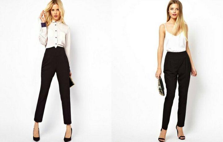 Черные брюки в вашем гардеробе 7