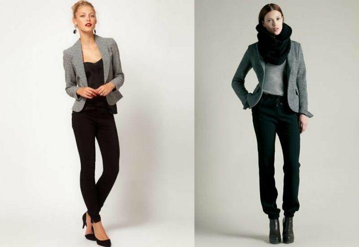 Черные брюки в вашем гардеробе 8