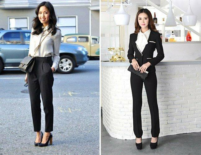 Черные брюки в вашем гардеробе 10
