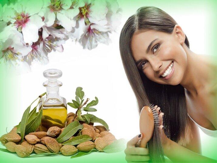 Использование масла сладкого миндаля для ухода за волосами 2