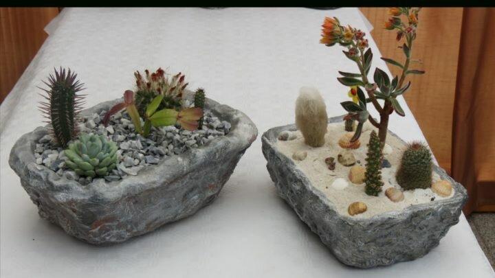 Как делать садовые фигуры из бетона? 6