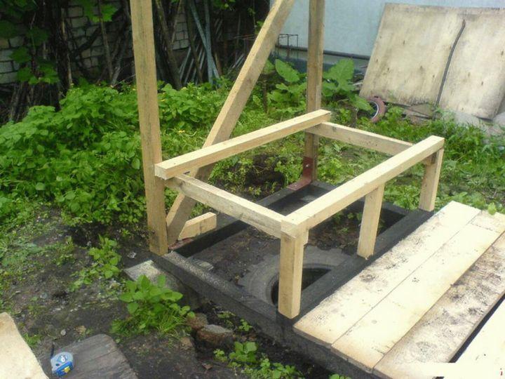 Как легко построить туалет на даче? 2