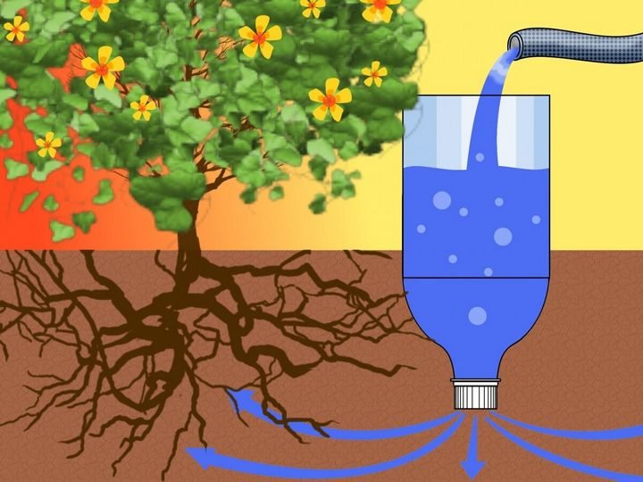 Как можно использовать на даче пластиковые бутылки? 9
