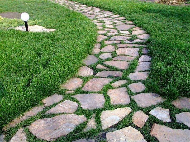 Как навсегда избавиться от травы на дорожках? 2
