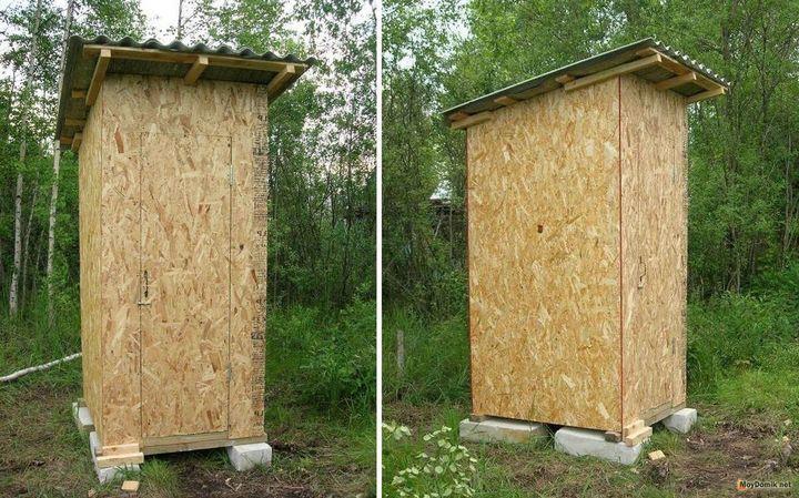 Как построить дачный туалет своими руками 2