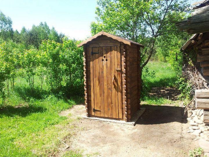 Как построить дачный туалет своими руками 1