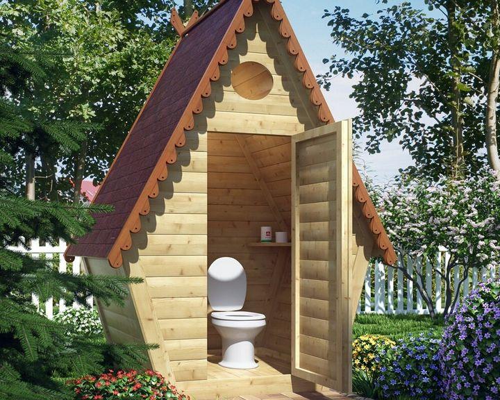 Как построить дачный туалет своими руками 4