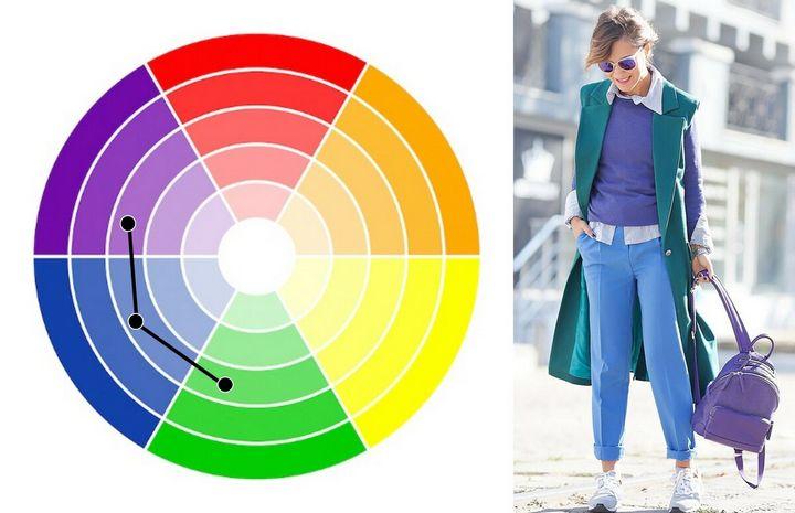 Как правильно сочетать цвета? 10