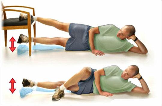 Как при помощи всего одного упражнения подтянуть места в области бедер? 2
