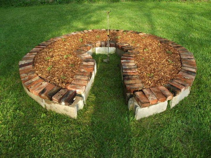 Как с пользой применить старые кирпичи в загородном доме? 12