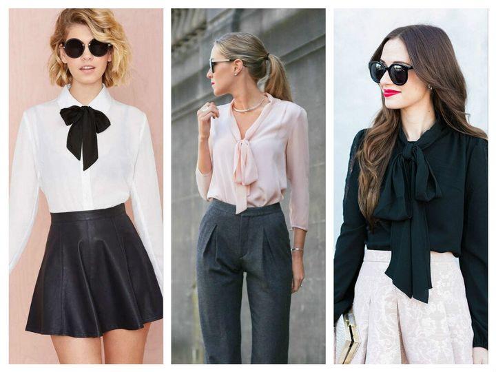 Какие блузки в моде осенью 2019 года? 12