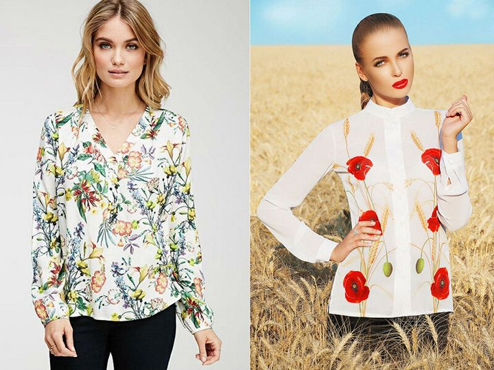 Какие блузки в моде осенью 2019 года? 2