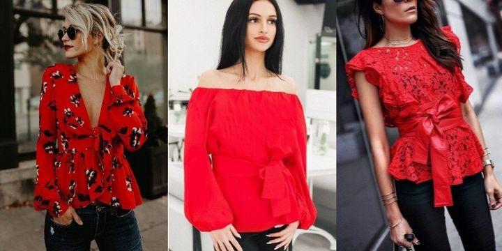 Какие блузки в моде осенью 2019 года? 17