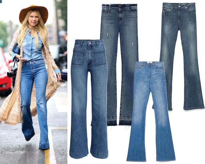 Какие джинсы сейчас в моде? 12
