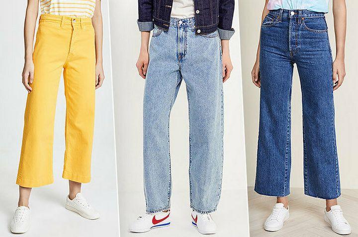 Какие джинсы сейчас в моде? 10