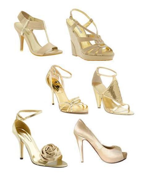 Какого цвета обувь подойдет к желтому платью 3