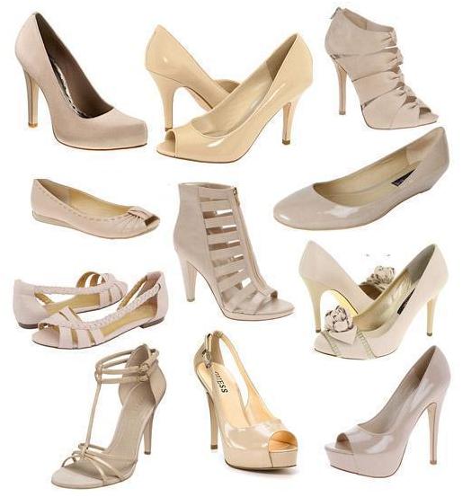 Какого цвета обувь подойдет к желтому платью 2