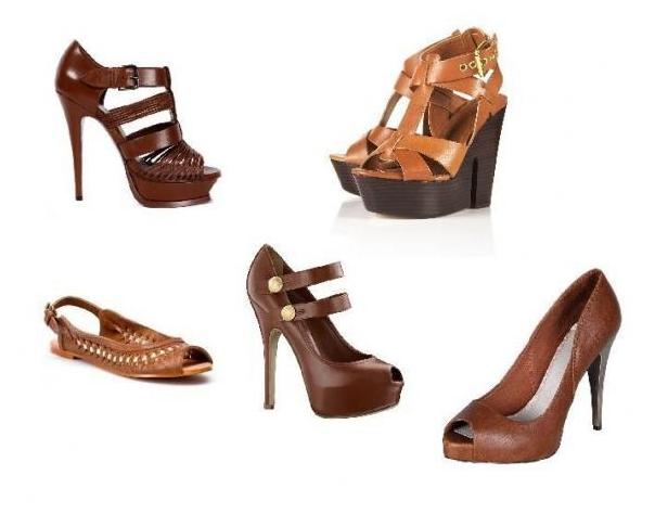 Какого цвета обувь подойдет к желтому платью 5