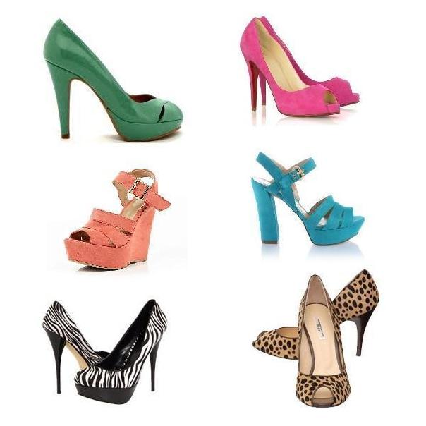 Какого цвета обувь подойдет к желтому платью 6