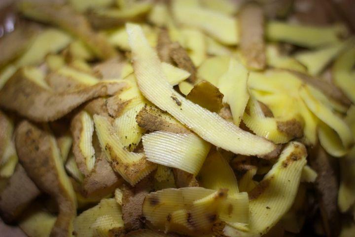 Картофельные очистки для огурцов 2