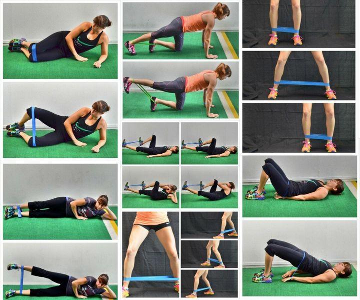 Комплекс упражнений с фитнес-резинкой 6