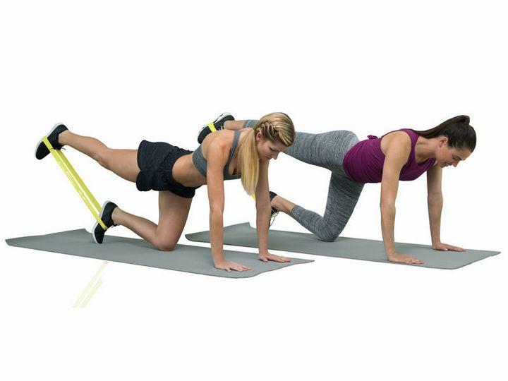Комплекс упражнений с фитнес-резинкой 7