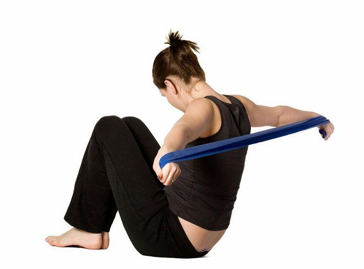 Комплекс упражнений с фитнес-резинкой 10