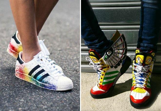 Кроссовки, выбираем модную обувь 2019 31