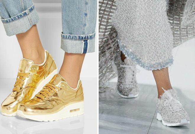 Кроссовки, выбираем модную обувь 2019 27