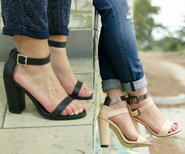 Лучшие варианты летней обуви на каблуке 9