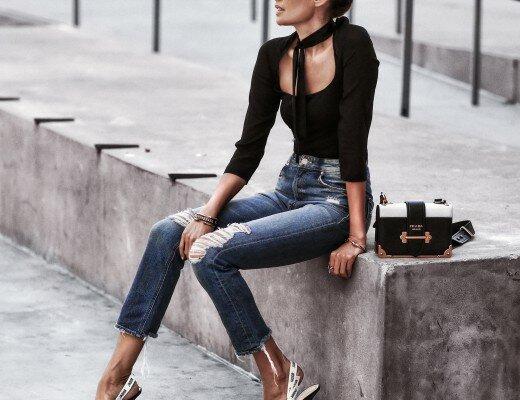 Модные джинсы на лето в 2019 году 15