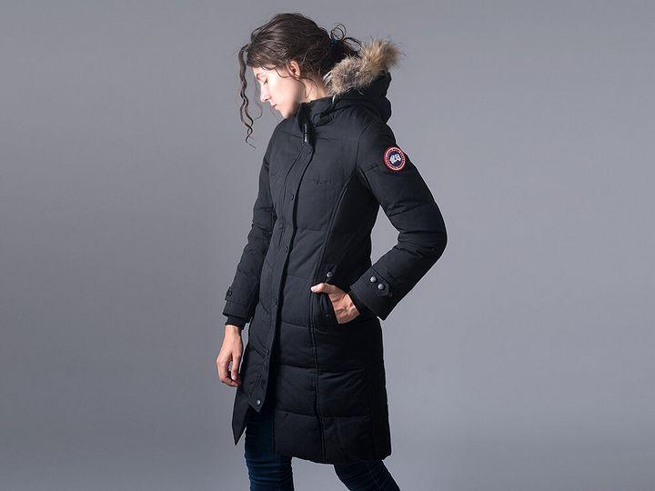 Модные модели зимней парки 9