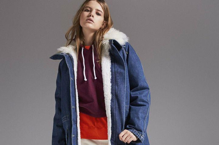 Модные модели зимней парки 15
