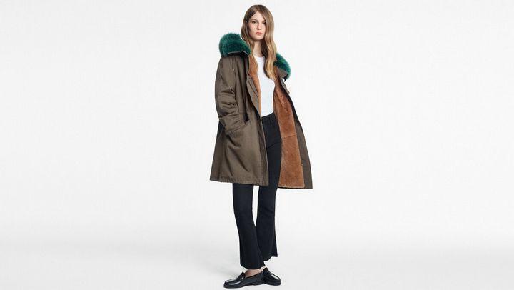 Модные модели зимней парки 16