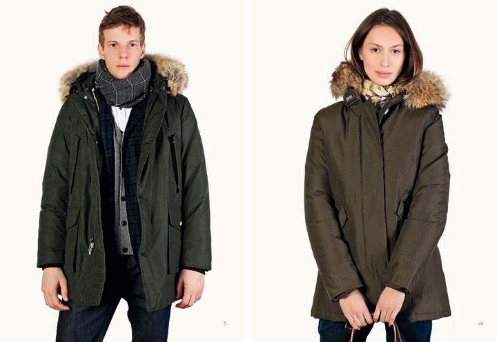 Модные модели зимней парки 6
