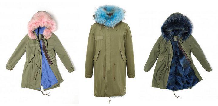 Модные модели зимней парки 3