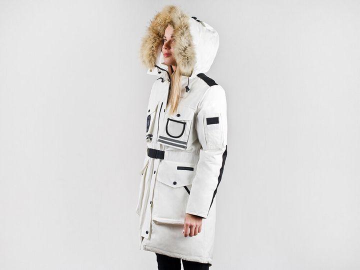 Модные модели зимней парки 8