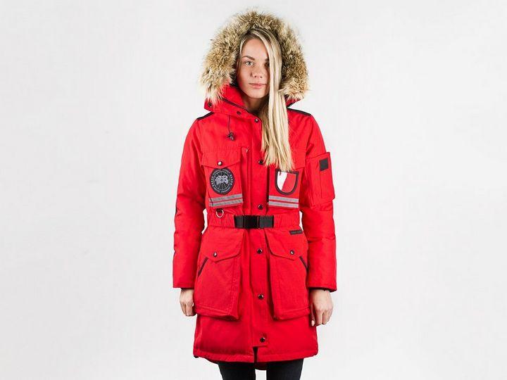 Модные модели зимней парки 12