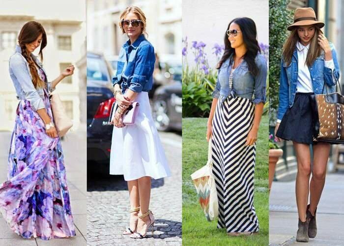 Модные образы с джинсовкой на осень 2