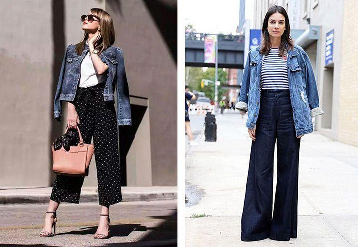Модные образы с джинсовкой на осень 4