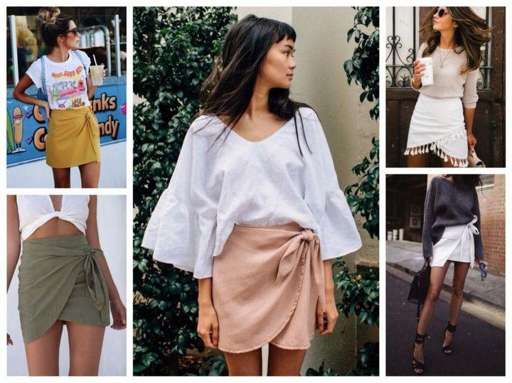Модные образы с юбкой 2019 12