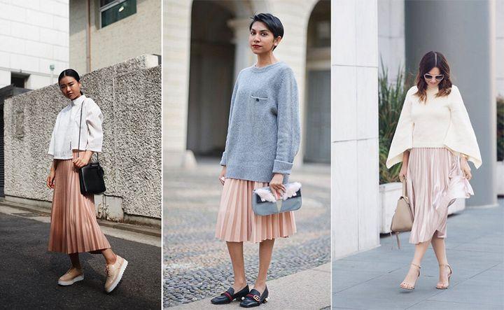 Модные образы с юбкой 2019 20